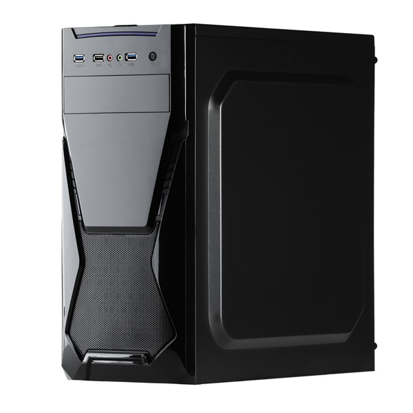 CHS PC Barracuda, Core i5-9400F 2.9GHz, 8GB, 240GB SSD, DVD-RW, Egér+Bill, nVidia GT (CHS BAR-1007_KESZLET3)