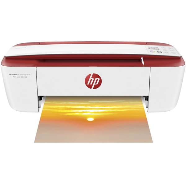 HP Tintasugaras MFP NY/M/S Deskjet Ink Advantage 3788 e-All-in-One Printer, USB/Wlan A4 7,5lap/perc(ISO), Red (T8W49C#A82)