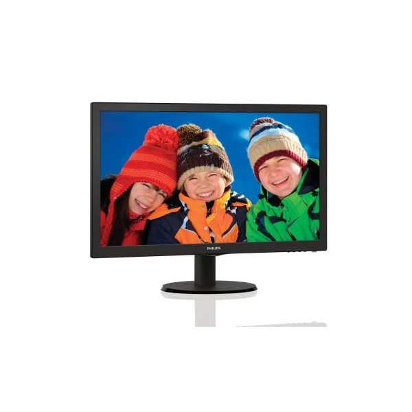 "Philips monitor 21,5"" - 223V5LSB2/10 1920x1080, 16:9, 200 cd/m2, 5ms, VGA (223V5LSB2/10)"