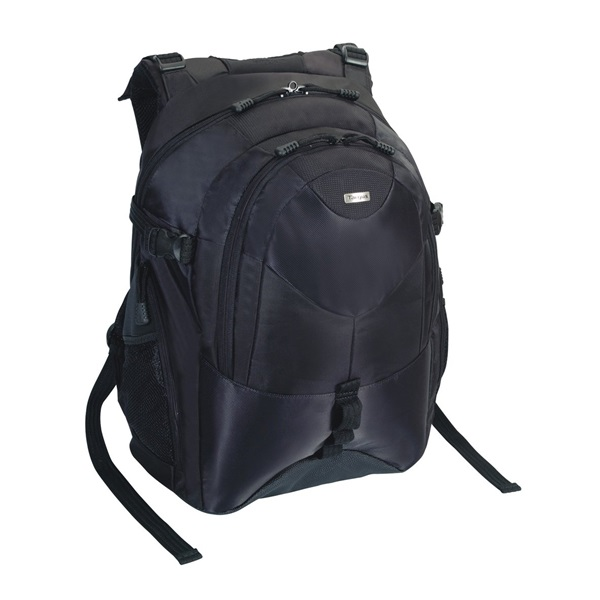 "TARGUS Notebook hátizsák TEB01, Campus 15-16"" Backpack - Black (TEB01)"
